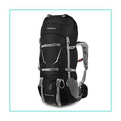 【新品】TOMSHOO Internal Frame Backpack 70+5L Outdoor Sport Water-Resistant Backpacking Trekking Bag with Rain Cover for Climbing Campin