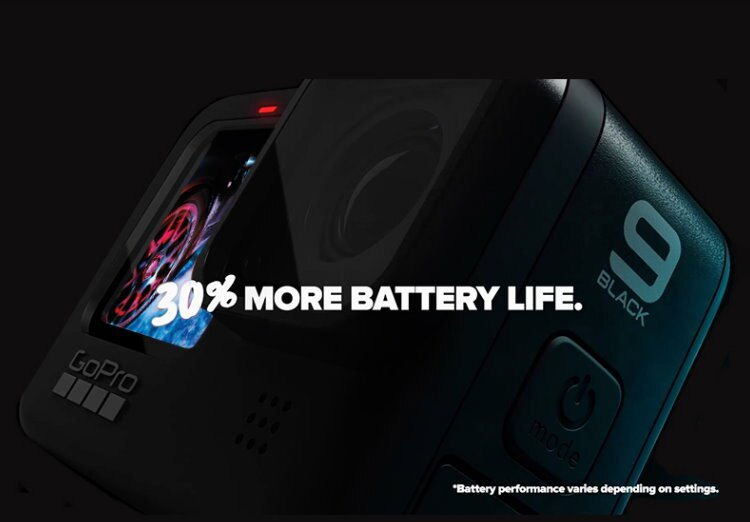 GoPro 運動攝影機 HERO9 Black 攝影機 前置螢幕 超強防手震 4K 錄影 紀錄 防水 公司貨
