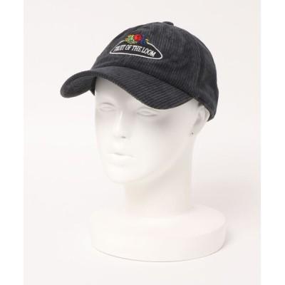 FRUIT OF THE LOOM / コーデュロイロウキャップ WOMEN 帽子 > キャップ