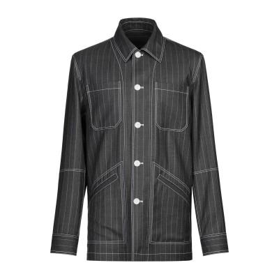 VERSACE テーラードジャケット グレー 48 ウール 100% テーラードジャケット