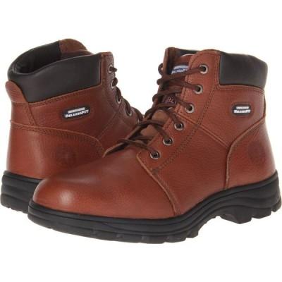 スケッチャーズ SKECHERS Work メンズ ブーツ シューズ・靴 Workshire - Relaxed Fit Brown
