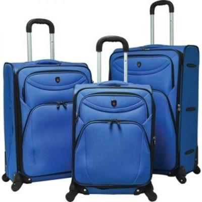 トラベラーズクラブ Travelers Club レディース スーツケース・キャリーバッグ 3個セット バッグ 3-Piece D-Luxe Expandable Spinner Lug