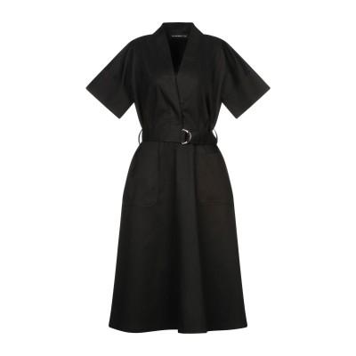 デパートメント 5 DEPARTMENT 5 7分丈ワンピース・ドレス ブラック XS ポリエステル 65% / コットン 35% 7分丈ワンピース