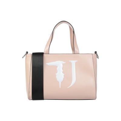 トラサルディ ジーンズ TRUSSARDI JEANS ハンドバッグ ライトピンク ポリエステル 100% / ポリウレタン樹脂 ハンドバッグ