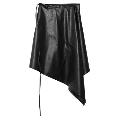WELLDONE ひざ丈スカート ブラック one size ポリエステル 100% ひざ丈スカート