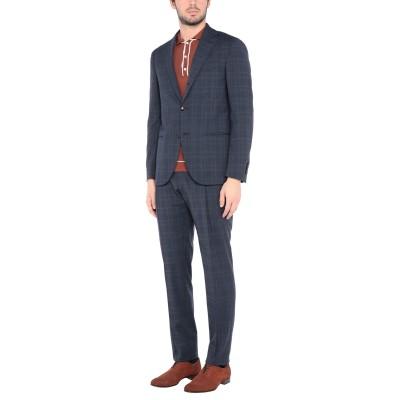 ラルディーニ LARDINI スーツ ダークブルー 50 ポリエステル 54% / ウール 44% / ポリウレタン 2% スーツ