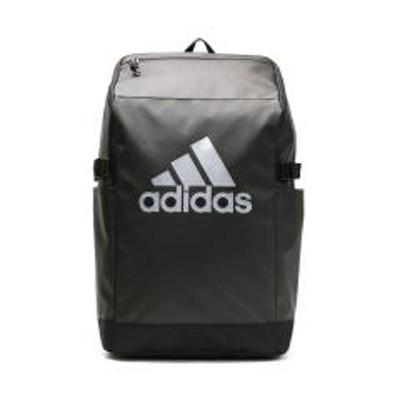 adidas(アディダス)5%OFFクーポン対象商品 【セール】アディダス リュック adidas リュックサック スクールバッグ 通学 通学リュック バッグ バックパック スクール スクエア ボックス スポーツ B4 A4 27L レディース メンズ 男子 女子 中学生 高校生 学生 おしゃれ 撥水 ブランド 62784 ブラックxブラック(01) クーポンコード:V6DZHN5