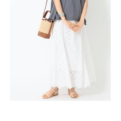 B:MING by BEAMS / カットワーク 刺繍 スカート 21SS
