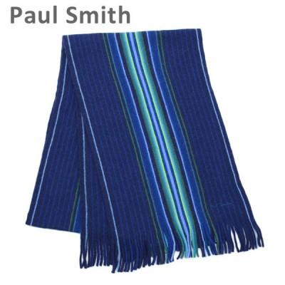 ポールスミス スカーフ M1A 809E AS10 47 GOJI STRIPE メンズ Paul Smith ストール マフラー