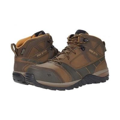 "Irish Setter アイリッシュセター メンズ 男性用 シューズ 靴 ブーツ ワークブーツ Rockford 5"" Waterproof Composite-Toe EH - Brown"