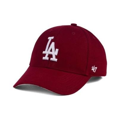 47ブランド 帽子 アクセサリー メンズ Los Angeles Dodgers MVP Cap Cardinal Red