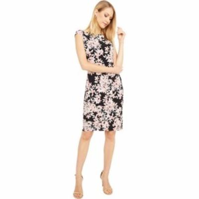 ラルフ ローレン LAUREN Ralph Lauren レディース ワンピース ワンピース・ドレス Novellina Cap Sleeve Day Dress Black/Pink/Multi