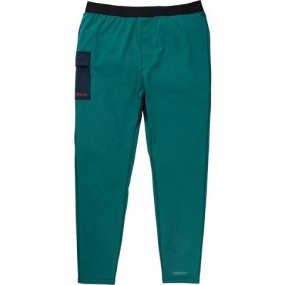 バートン Burton メンズ スキー・スノーボード ベースレイヤー ボトムス・パンツ heavyweight x baselayer pants Antique Green/Dress Blue