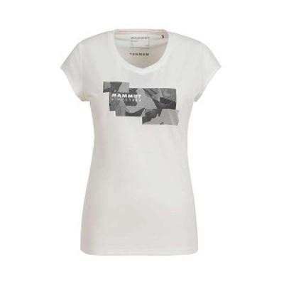 マムート レディース Tシャツ トップス Mammut Women's Trovat T-Shirt White