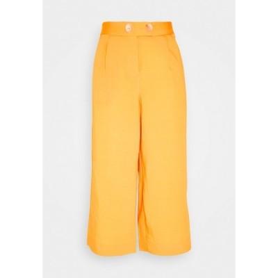 リッチ アンド ロイヤル カジュアルパンツ レディース ボトムス CULOTTE PANTS - Trousers - spring gold
