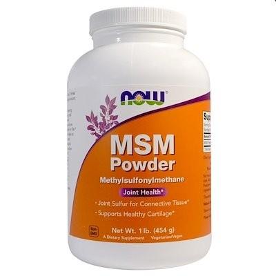 MSMパウダー、1ポンド (454 g)