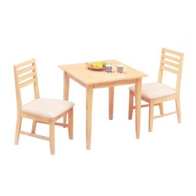 ダイニングテーブルセット 2人掛け 3点 北欧 カフェ風 おしゃれ 人気 安い 天然木