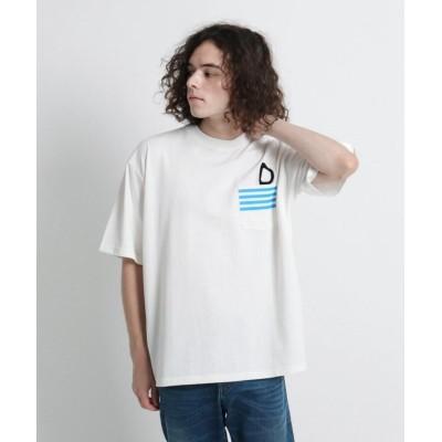 【デッサン】 ブランチ天竺Tシャツ メンズ ホワイト 02(M) Dessin