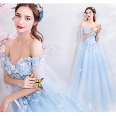 姫系ドレス ナイトドレス ワンピース 上品 クオリティー 花柄 マキシドレス ブライズメイド きれいめ イブニングドレス