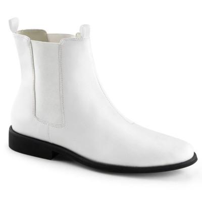 取寄せ靴 送料無料 PLEASER プリーザー ブーツ 2.5cmヒール 大きいサイズあり