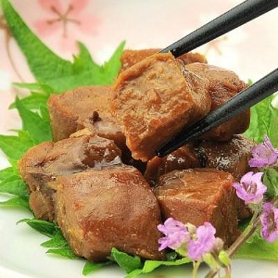 コラーゲンたっぷり♪まぐろ尾肉の佃煮(マグロ角煮/佃煮)110g×2個【送料無料】