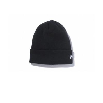 ニューエラ(NEW ERA)BACIC CUFF KNIT M 11120507 ウインター衣料小物 BLK ビーニー ニット帽