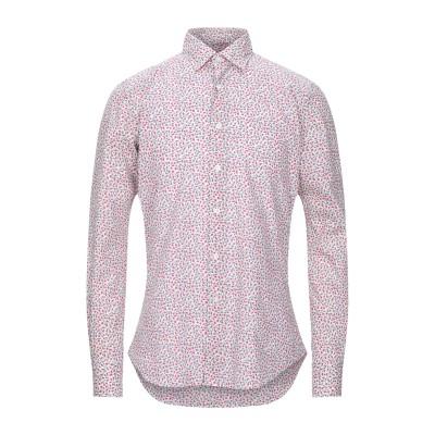 グランシャツ GLANSHIRT シャツ モーブ 40 コットン 100% シャツ