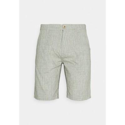 ブレンド カジュアルパンツ メンズ ボトムス Shorts - oil green