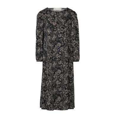 SHIRTAPORTER 7分丈ワンピース・ドレス ブラック M ポリエステル 100% 7分丈ワンピース・ドレス