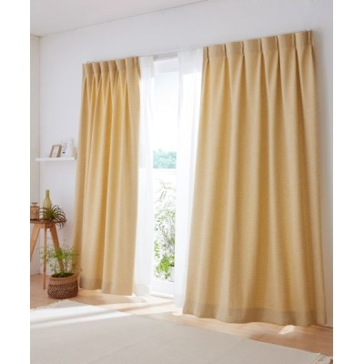 【送料無料!】パステル調ざっくりドレープカーテン ドレープカーテン(遮光あり・なし) Curtains, blackout curtains, thermal curtains, Drape(ニッセン、nissen)