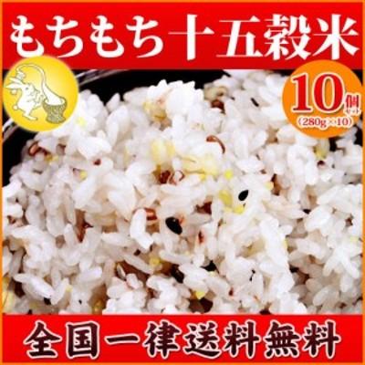 雑穀 もちもち十五穀米 10個セット 送料無料 業務用 まとめ買いでお得 もち麦  保存食 非常食