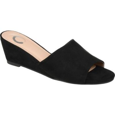 ジュルネ コレクション Journee Collection レディース サンダル・ミュール シューズ・靴 Pavan Slide Black