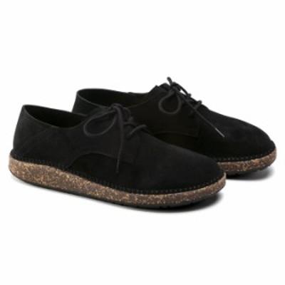ビルケンシュトック メンズ スニーカー ゲーリー レザーシューズ 革靴 ブラック レギュラーフィット (幅広)  BIRKENSTOCK Gary