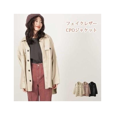 【秋冬】フェイクレザー CPOジャケット 15