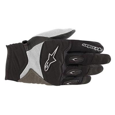 ステラ ショア レディース Motorcycle Glove (Extra スモール, ブラック White)(海外取寄せ品)