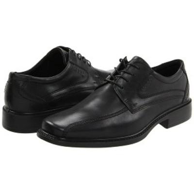 エコー メンズ ドレスシューズ シューズ New Jersey Tie Black Santiago Full-Grain Leather