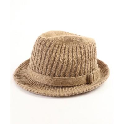 FUNALIVE / 【SENSE OF GRACE】 WAVE ROMI HAT FW ウォッシャブルニット素材 中折れハット MEN 帽子 > ハット