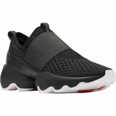 ソレル Sorel レディース スリッポン・フラット スニーカー シューズ・靴 Kinetic Impact Strap Slip On Sneaker Black Air Mesh