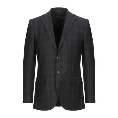LUBIAM テーラードジャケット ダークブルー 48 バージンウール 100% テーラードジャケット