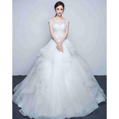 ウェディングドレス > ウェディングドレス ふんわりタイプ060301