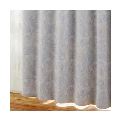 【ピーターラビット(TM)】リーフ柄1級遮光カーテン&レース4枚セット(ヒダがきれいな形状記憶加工) カーテン&レースセット, Curtains, sheer curtains, net curtains(ニッセン、nissen)