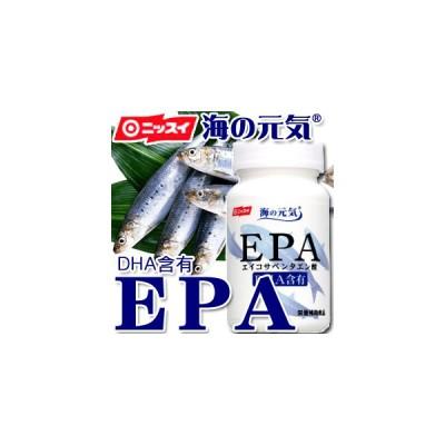 【ニッスイ】サプリメント 海の元気EPA(120粒) 【EPA】【DHA】【サプリ】【カプセル】【青魚】【サラサラ成分】