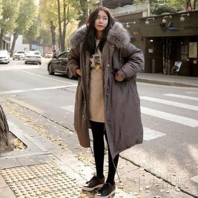 レディースロングコート 棉コード 新入荷 大人気 厚め棉コートゆったり 膝丈 大きいサイズ 学生棉コート5