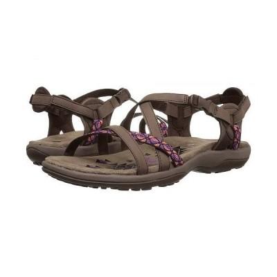 SKECHERS スケッチャーズ レディース 女性用 シューズ 靴 サンダル Reggae Slim - Vacay - Chocolate