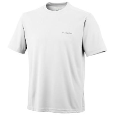 コロンビア メンズ シャツ トップス Meeker Peak Short-Sleeve Crew White