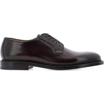 """ファビ Fabi メンズ 革靴・ビジネスシューズ レースアップ シューズ・靴 """"Appaloosa"""" Lace-Up Brown"""