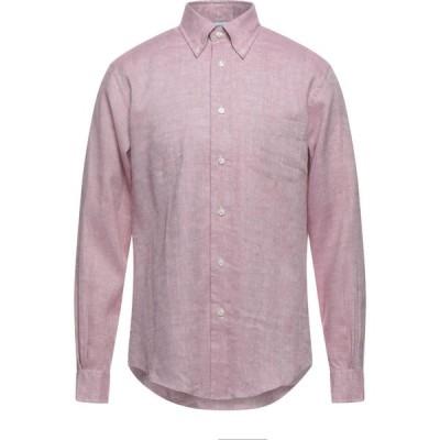 ブルックス ブラザーズ BROOKS BROTHERS メンズ シャツ トップス Linen Shirt Pastel pink