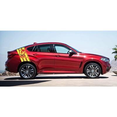 グラフィック デカール ステッカー 車体用 / BMW X6 / カスタム グラフィック・ステッカー