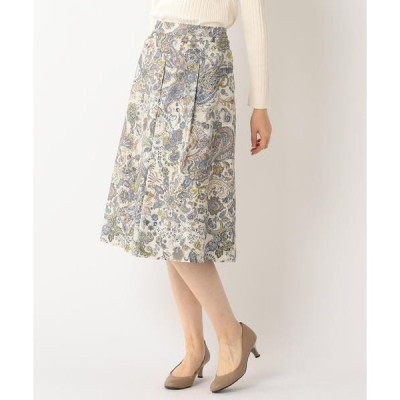 SCAPA / スキャパ クラシカルペイズリー スカート