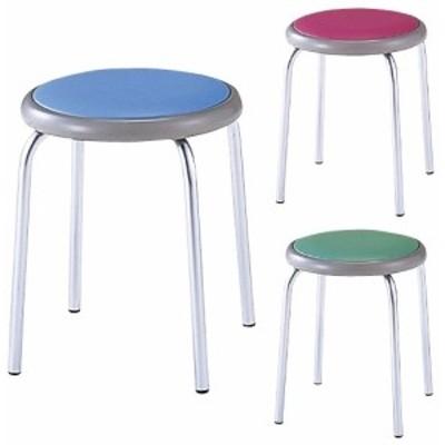 丸椅子 カラー:グリーン MY-N1143